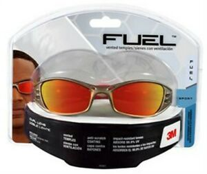 Fuel Safety Glasses no 90987 80025 3m 3pk