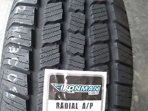 2 New 245 65r17 Ironman Radial A P Tires 245 65 17 R17 2456517 65r Owl