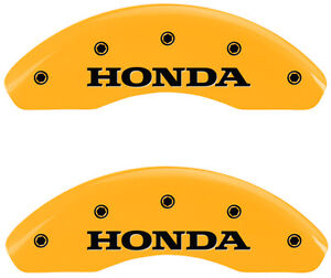Brake Mgp Caliper Cover Rear Yellow Paint Wheels Rotor For Honda Cr v 2012 2016