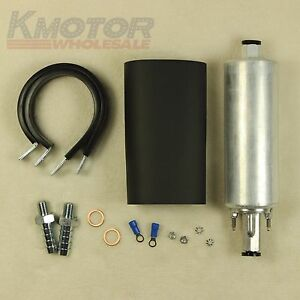 Brand New Universal High Flow Fuel Pump Gsl392 Pressure External Inline 255lph