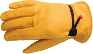 Heavy duty Grain Cowhide Leather Work Gloves no 1132m Wells Lamont Corp 3pk