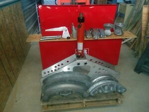Gardner Bender Hydraulic Ejecto Matic B351spe34j W P34j 1 1 8hp Pump And Case