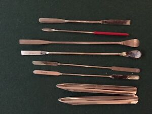 Lot 2 Chemware Assorted Spatula Spoon And More