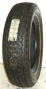 New Jetzon Tire 175r15 Radial Steel Belted Winter Tire White Wall Nos 17515