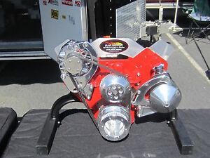 Chevy Hot Rod Pulley Kit Gasser
