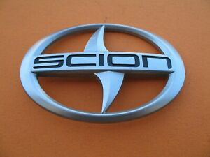 05 06 07 08 09 10 Scion Tc Rear Trunk Lid Emblem Logo Badge Sign Symbol Oem Used
