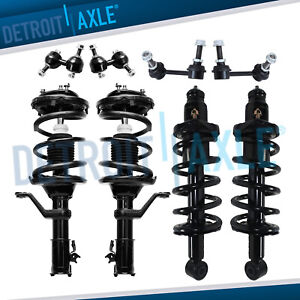 8pc Front Rear Strut Sway Bar Link 2002 2003 2004 2005 2006 Honda Crv Cr v