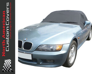 Rp100 Convertible Soft Top Roof Protector Half Cover For Bmw Z3 1995 To 2002