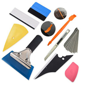Pro Window Tinting Tools Kit Wrap Stick Auto Car Application Film Tint Scraper