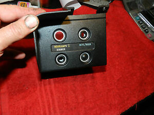 Restored Non Rally Switch Panel 70 71 Cuda 71 Challenger Barracuda Aar