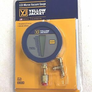 Yellow Jacket Digital Lcd Vacuum Gauge With Pouch