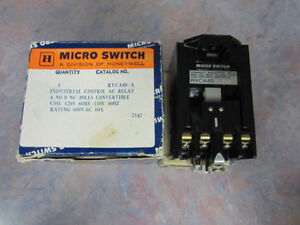 Ryca40 a Micro Switch Relay Coil 120 V