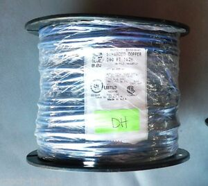 500 Feet Spool Of 16 26 Blue Stranded Copper Machine Tool Wire
