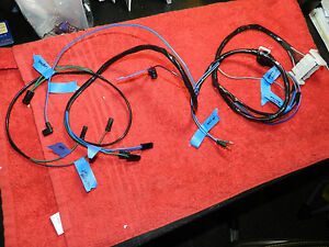 New Points 340 6 Engine Harness 1970 Cuda Challenger Ta Aar All Labeled