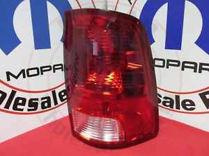 Dodge Ram 1500 2500 3500 Passenger Right Side Tail Light Assembly New Oem Mopar