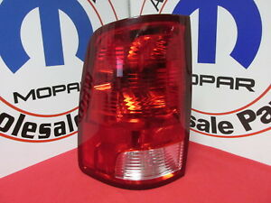 Dodge Ram 1500 2500 3500 Driver Left Side Tail Light Assembly New Oem Mopar