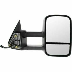 New Gm1321411 Right Side Heated Tow Mirror For Cadillac Chevrolet 1500 1999 02