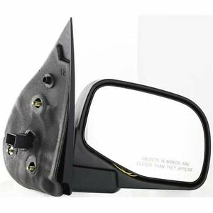 New Right Side Mirror Textured Black For Ford Explorer Fo1321211 2002 2005