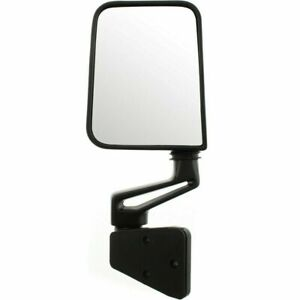 New Left Driver Side Manual Operated Door Mirror For Jeep Wrangler 1994 2002