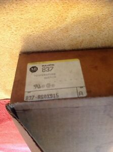Allen Bradley Temperature Switch 837 a60x915