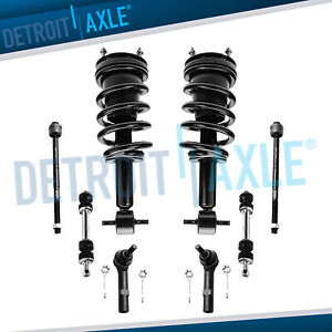 Brand New 8pc Front Spring Strut Suspension Kit For Silverado And Sierra 1500