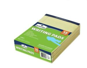 750 Sheets Writing Pads 8 1 2 X 11 Standard Legal Canary Usa Made