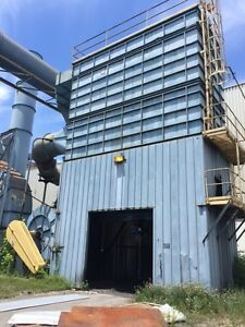 Knockum Dust Collector 50 000 Cfm 300 Hp Fan Pulse Jet