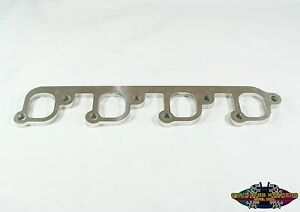 304 Stainless Header Flanges For A Ford 351 Cleveland 351c Head