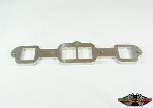 304 Stainless Header Flanges For A Oldsmobile 455 Head 2 1 8 Square Port