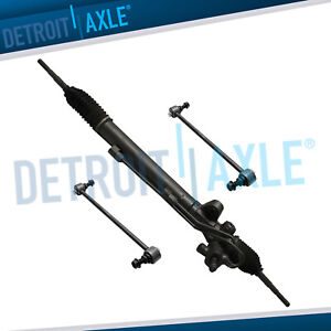 Power Steering Rack And Pinion 2 New Front Sway Bar Links 2005 2010 Odyssey