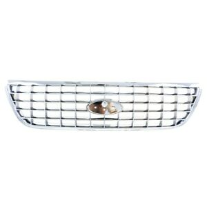 Front Upper Grille Fit For Ford Explorer Chromed Fo1200402 Performance New