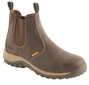 Dewalt Radial Dealer Boots With Steel Toe Caps Midsole Mens Safety Dealer Boots