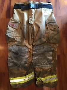 Firefighter Bunker Turnout Gear Pants Globe 46x30 G Extreme Halloween Costume