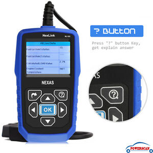 Nexas Hd Heavy Duty Diesel Truck Diagnostic Scanner Tool Code Reader Nexas Nl102