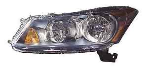 New Honda Accord Sedan 2008 2009 2010 2011 2012 Left Driver Headlight Head Light
