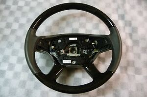 Mercedes Benz Cl Steering Wheel Wood And Leather A 2214603403 Oem Oe