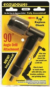 Eazypower 81544 90 degree 3 8 inch Angle Drill Attachment By Eazypower Corp