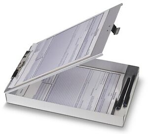 Officemate International 83200 8 5 X 12 Aluminum Forms Clipboard no 83200
