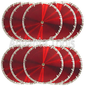 10pk 14 Diamond Saw Blade For Block Concrete Paver Brick Refractory Brick 15mm