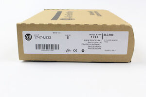 New In Box Sealed Allen Bradley 1747 l532 Series E Frn 11 Slc 500 Plc Module