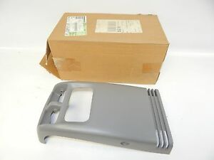 New Oem 97 99 Ford Expedition Floor Console Rear Panel Trim Glove Compartment