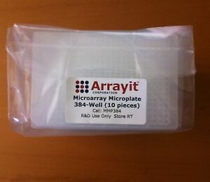 Arrayit Microarray Microplate 384 well 10 Pc
