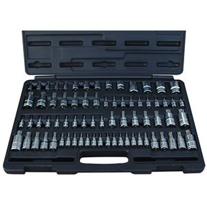 Atd 13772 72 Pc Master Star Bit Socket Set For Hand Tools Only
