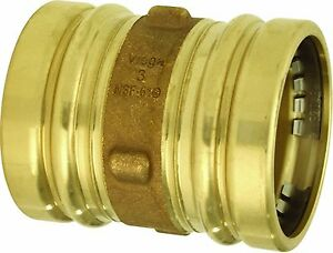 Viega 91347 Propress Bronze Xl Coupling With Stop 3 inch Cxc Cc 400 Ridgid