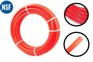 3 4 X 100 Feet Red Pex Tubing For Potable Water Pexb Non barrier 3 4 Inch 100ft