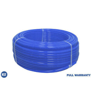 1 2 X 100 Ft Pex Tubing Blue Pex b For Potable Water Non barrier Plumbing Pipe