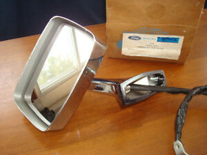 Nos New Ford Mustang Lh Remote Mirror C3az 17696 a Ah69