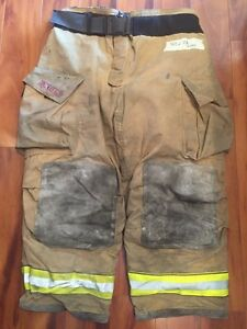 Firefighter Bunker Turnout Gear Pants Globe 42x28 G Extreme Halloween Costume