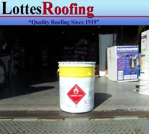 36 5 Gal Solvent Epdm And Tpo Rubber Roofing Bonding Adhesive