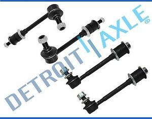 New 4pc Front Rear Stabilizer Sway Bar Links 4runner For 1996 2002 4x4